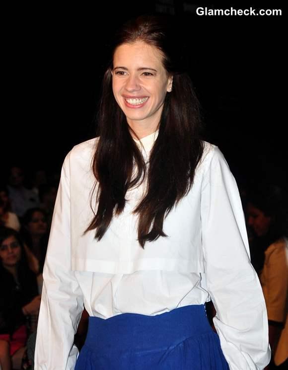 Kalki Koechlin Lakme Fashion Week Winter Festive 2013