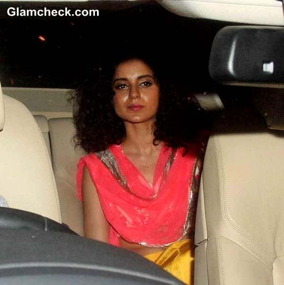Kangna Ranaut at Shahrukh Khan  Eid Ul Fitr Party