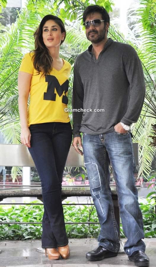 Kareena Kapoor Khan and Ajay Devgan  Satyagraha Movie 2013