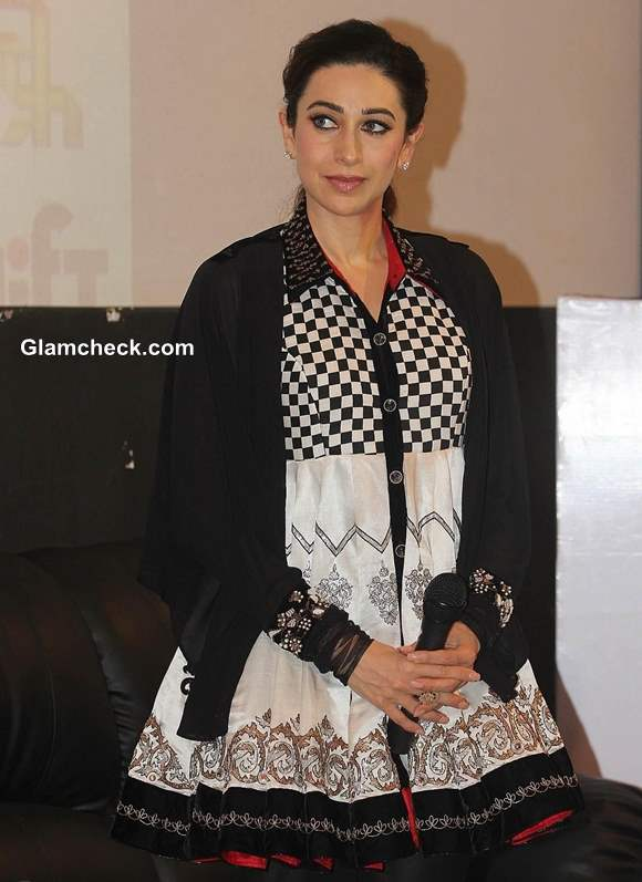 Karisma Kapoor 2013 Promotes New Weight Loss Book at Red Dot Film Festival