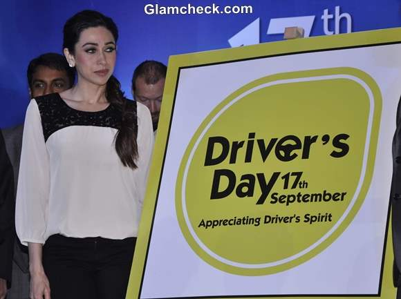 Karisma Kapoor Launches Drivers Day Campaign in Mumbai