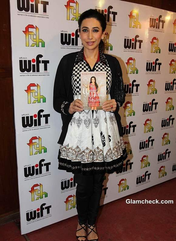 Karisma Kapoor Promotes New Weight Loss Book at Red Dot Film Festival