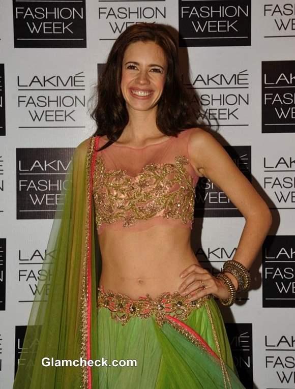 LFW Winter-Festive 2013 Kalki Koechlin Anushree Reddy