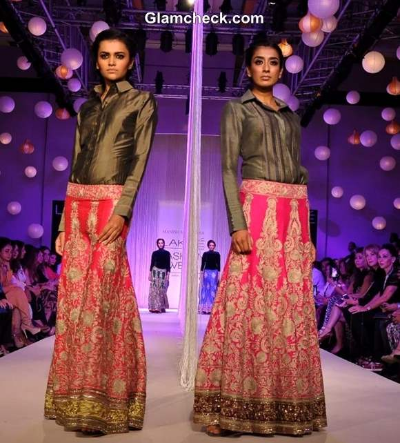 Lakme Fashion Week Winter- Festive 2013 - Reflections by Manish Malhotra