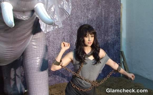 Lauren Gottlieb in PETA Anti-Circus Campaign Photoshoot