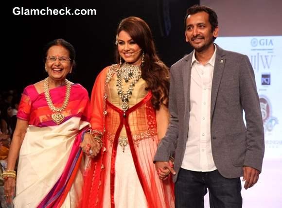 Mahima Chaudhary Showstopper for Shobha Shringar Jewellers