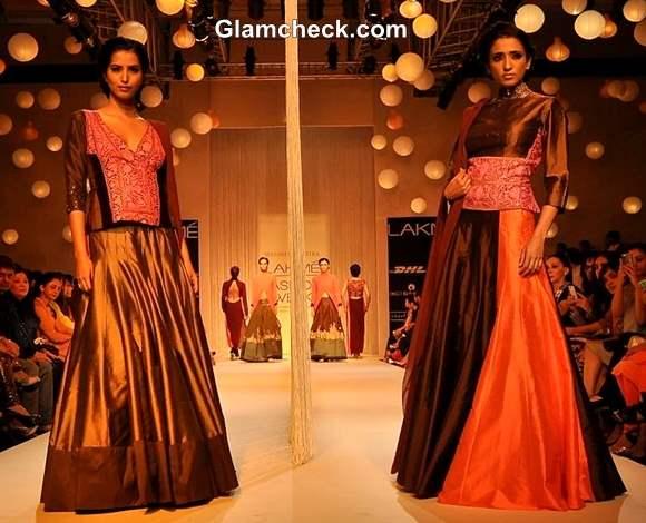 Manish Malhotra show aty Lakme Fashion Week Winter- Festive 2013