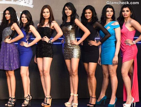 Miss Diva 2013 Winners at Final Audition