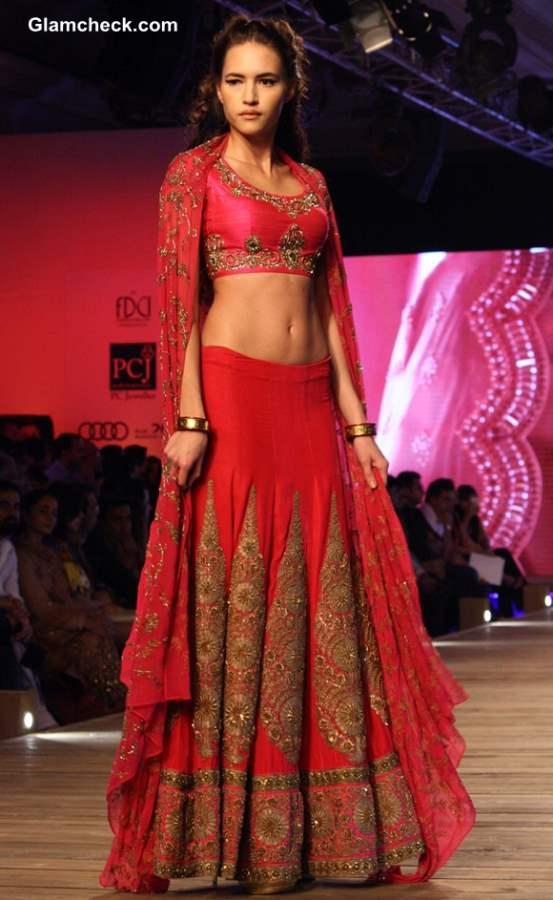 Monisha Jaising 2013 collection Delhi Couture Week