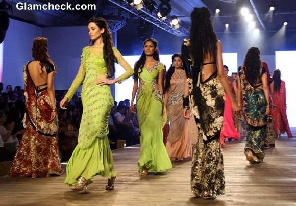Monisha Jaising 2013 collection at Delhi Couture Week