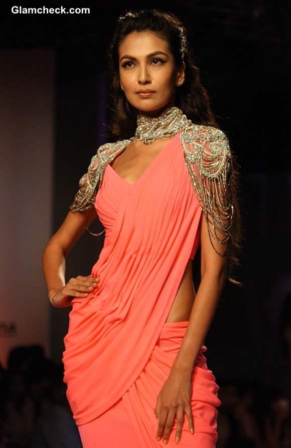Monisha Jaising Delhi Couture Week 2013