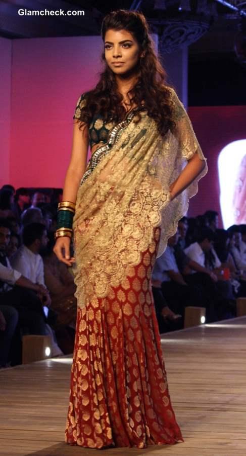 Monisha Jaising at Delhi Couture Week 2013