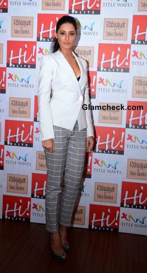 Nargis Fakhri Hi Blitz Magazine August 2013 Issue Launch