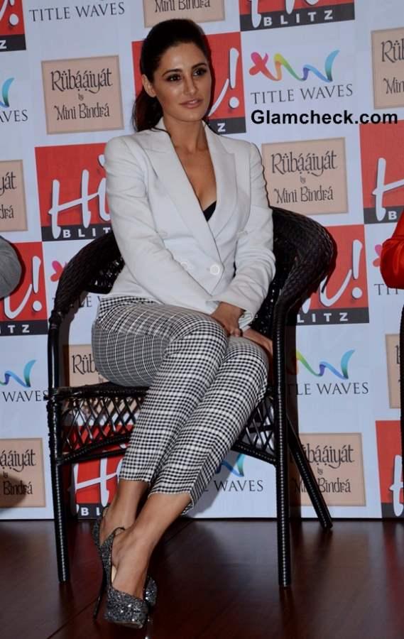 Nargis Fakhri at Hi Blitz Magazine August 2013 Issue Launch