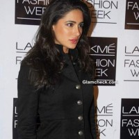 Nargis Fakhri in Sabyasachi at LFW Winter-Festive 2013