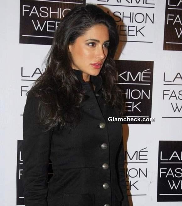 Nargis Fakhri in Sabyasachi at LFW Winter-Festive 2013