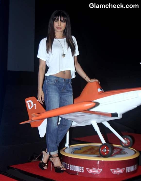 Priyanka Chopra Announces Voice Work on Planes