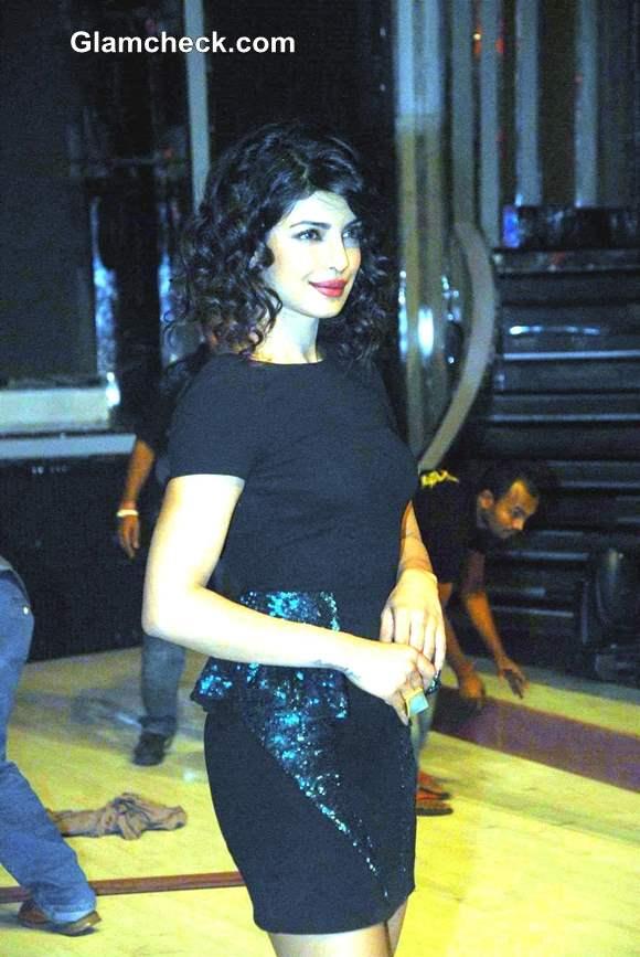 Priyanka Chopra Hairstyle 2013