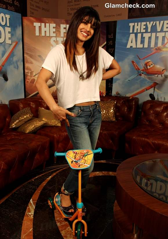 Priyanka Chopra Launches the Toy Figure Characters of Disneys Planes Movie