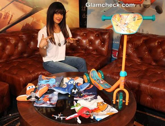 Priyanka Chopra Launches the Toy Figures of Disneys Planes Movie Characters