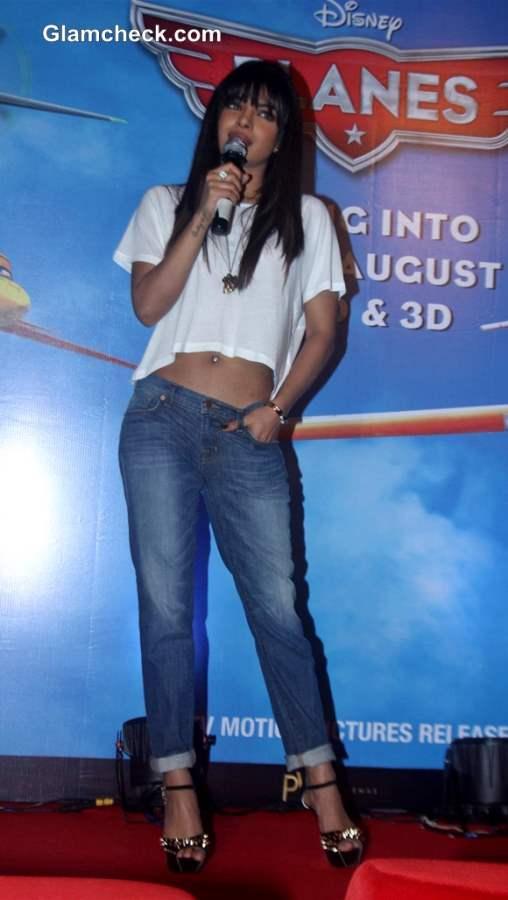 Priyanka Chopra Voice Work on Planes