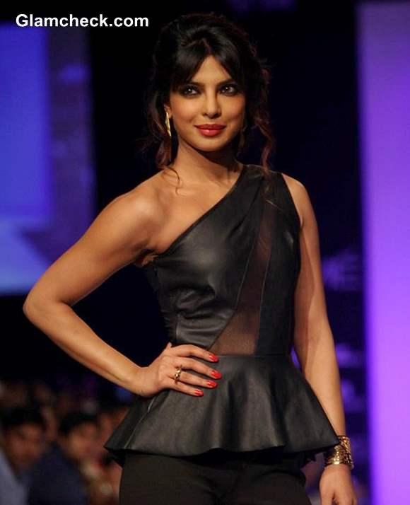 Priyanka Chopra at LFW Winter-Festive 2013
