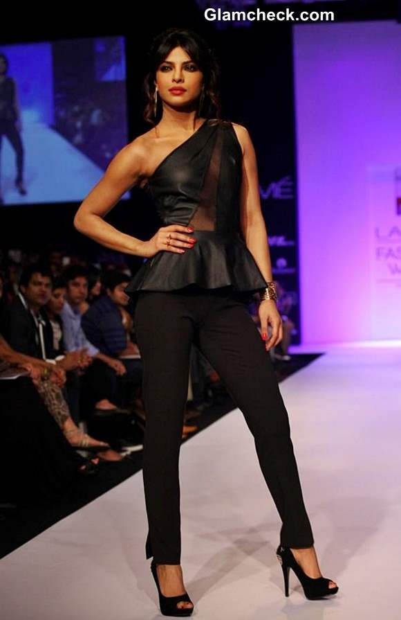 Priyanka Chopra for Bisou Bisou at LFW Winter-Festive 2013