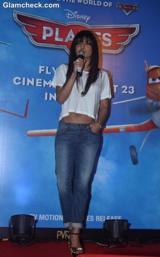 Priyanka will be voicing the character of Ishani in Planes