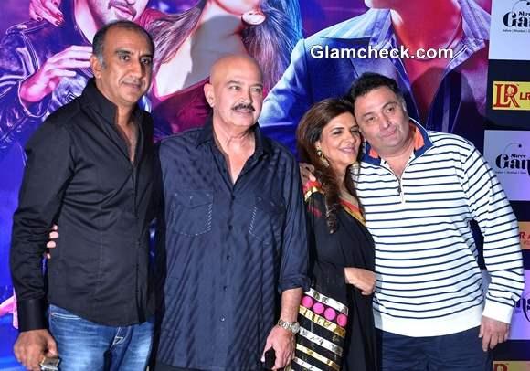 Rishi Kapoor and Rakesh Roshan at Ekta Kapoor Iftar Party
