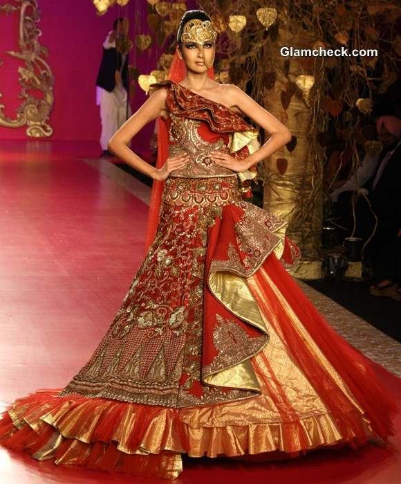 Ritu Beri Bridal Collection Delhi Couture Week 2013