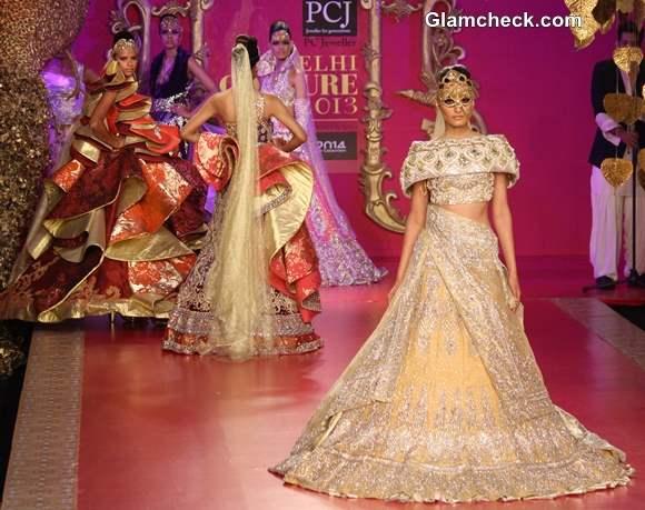 Ritu Beri Show 2013 Delhi Couture Week