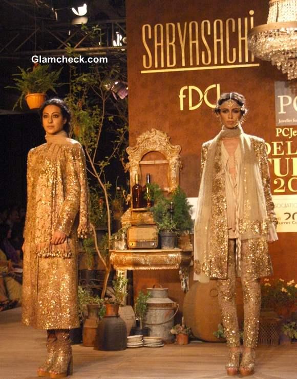 Delhi Couture Week Day 1 – Sabyasachi Collection Sabyasachi Bridal Collection 2013
