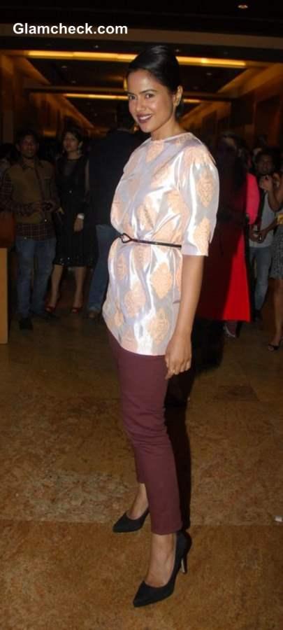 Sameera Reddy at LFW Winter-Festive 2013