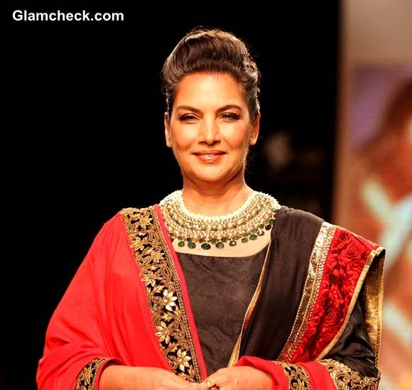 Shabana Azmi Golecha Jewels at IIJW 2013