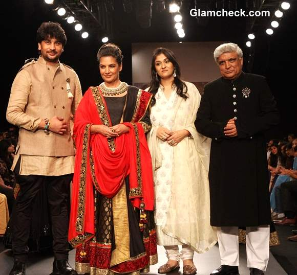 Shabana and Javed Show-stoppers for Golecha Jewels at IIJW 2013 – Day 3