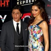 Shahrukh Deepika Promote Chennai Express in National Capital