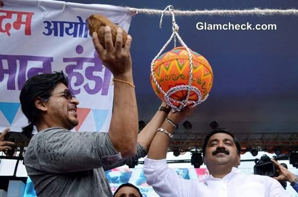 Shahrukh Khan Dahi Handi Event