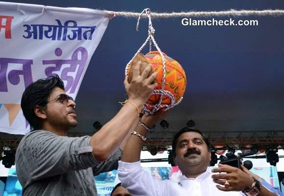 Shahrukh Khan First Dahi Handi Ever