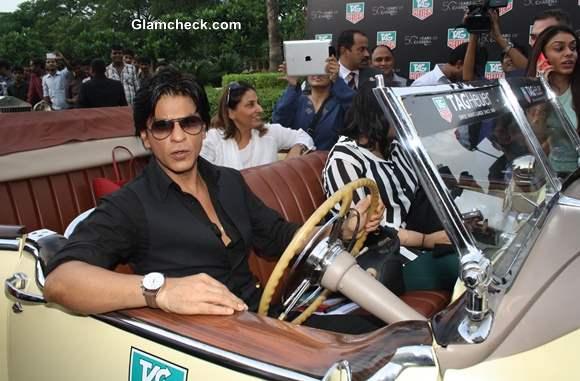 Shahrukh Khan at TAG Heuer 50th Anniversary Celebrations