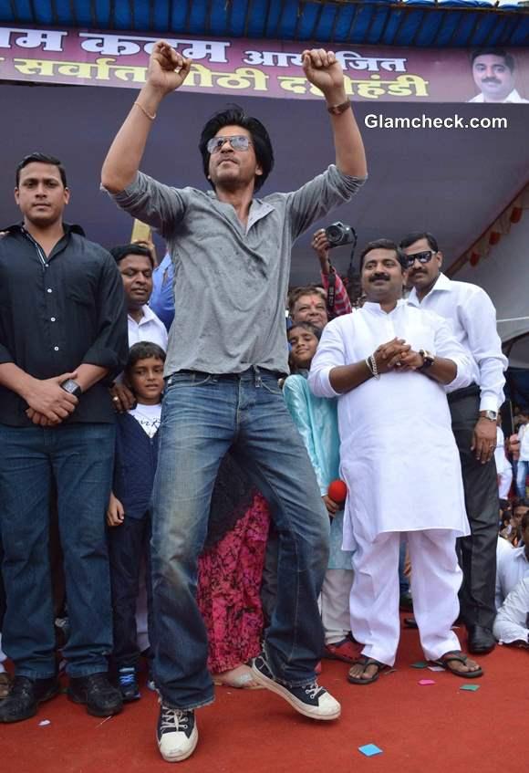 Shahrukh Khans Dahi Handi event 2013