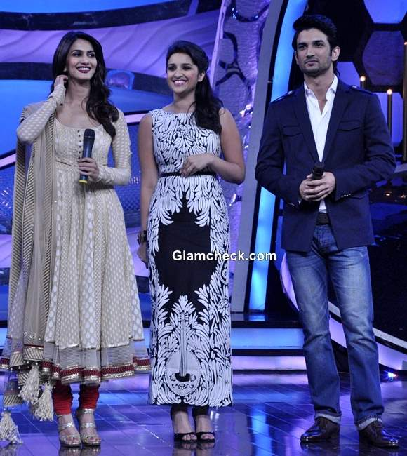 Shuddh Desi Romance movie cast on DID Super Moms