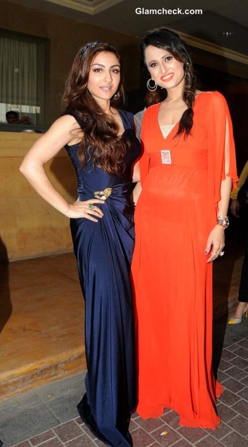 Soha Ali Khan at Glamour Style Walk 2013