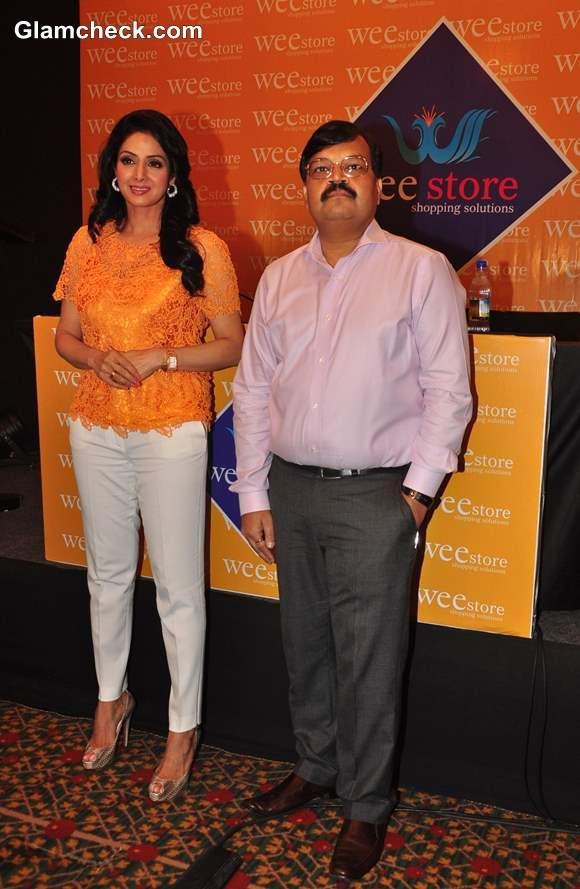 Sridevi Brand Ambassador for Wee Store