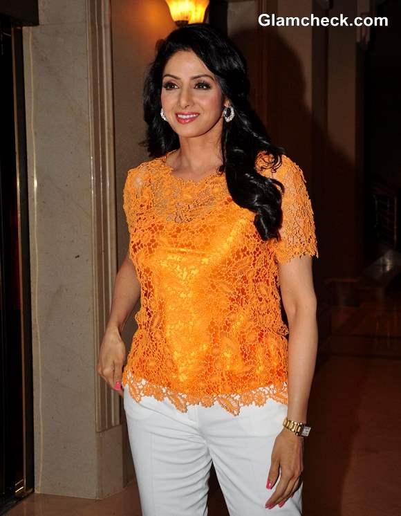 Sridevi casual look 2013