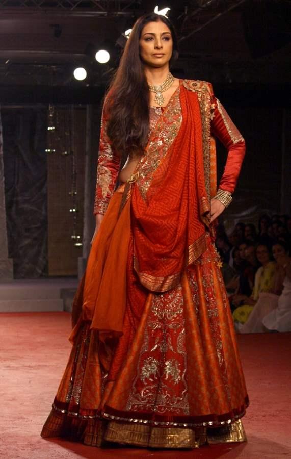 Tabu at Dlhi Couture Week 2013 Designer Anju Modi show