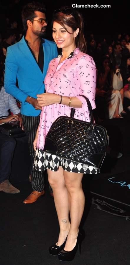 Tanisha Mukherjee at Lakme Fashion Week Winter Festive 2013