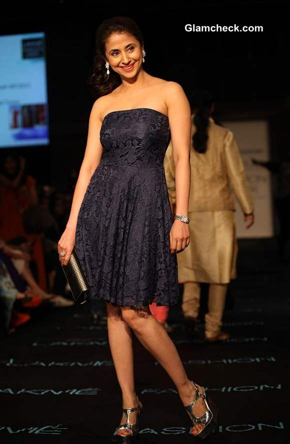 Urmila Matondkar at Lakme Fashion Week Winter-Festive 2013