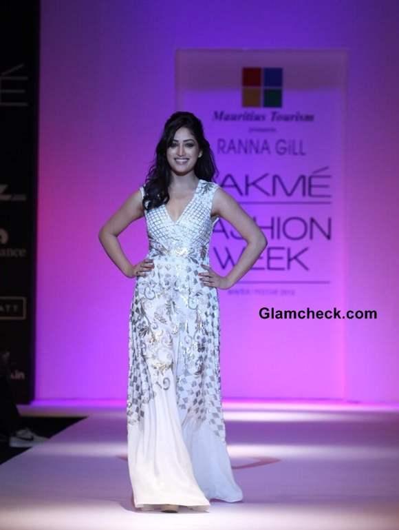 Yami Gautam Showstopper for Ranna Gil LFW 2013