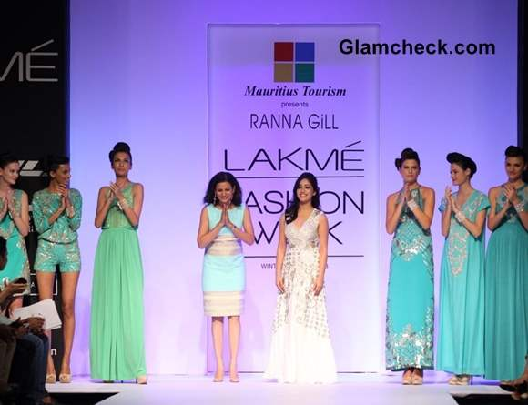 Yami Gautam Showstopper for Ranna Gil at LFW 2013