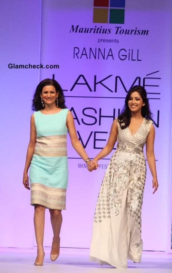 Yami Gautam for Ranna Gil at LFW 2013